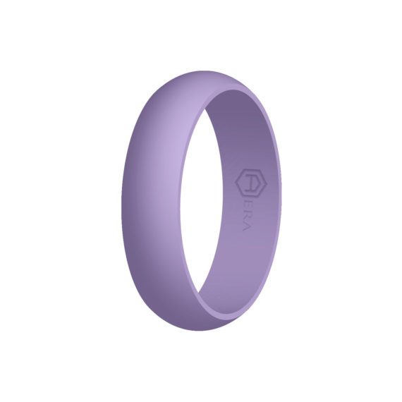 Womens Lilac Silicone Ring PT